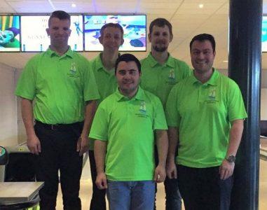 TZC handicapteam 2017 Rudy Kerkhove, Frank Visser, Davey Pieters, Vincent Bergwerff en Randy van Ingen