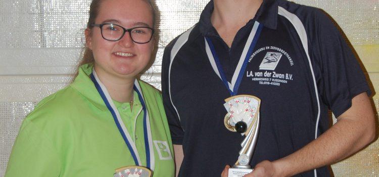 Lindsey Paling en Rody van Ruiten Verenigingskampioenen