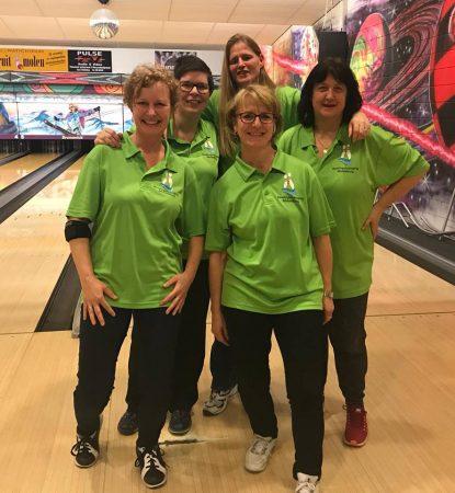 TZC handicapteam 2018 Tamara Meulmeester, Claudia Kutzner, Katty Paling, Angelique de Graaf en Hélène de Ruiter