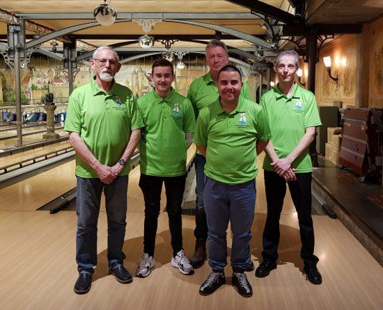 TZC Handicapteam 2020 Jules Visser, Rody Kieboom, Richard van Zelst, Randy van Ingen en Frank Visser