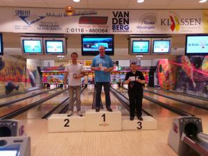 25 11e Van der Zwan Toernooi Heren TOP 3