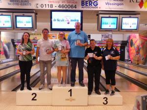 26 11e Van der Zwan Toernooi Heren en Dames TOP 3