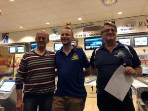 10 12e Van der Zwan Toernooi - Heren 8e plaats Danny van Roey