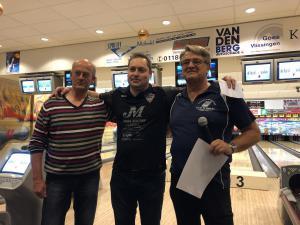 16 12e Van der Zwan Toernooi - Heren 2e plaats Frederic Vandewaeter
