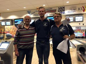 17 12e Van der Zwan Toernooi - Heren 1e plaats Bart van Beers