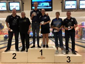 18 12e Van der Zwan Toernooi - Finalisten Dames en Heren top 3