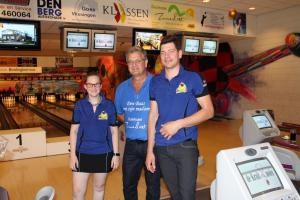 06 5e Den Baas en zijn madam Toernooi 2018 11e plaats Jurgen Driesen en Kris Muller