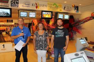 08 5e Den Baas en zijn madam Toernooi 2018 9e plaats Martje Maljers en Stefan Maljers