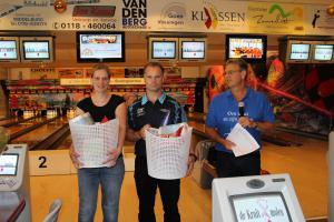 09 5e Den Baas en zijn madam Toernooi 2018 8e plaats Michael van Klaveren en Tinne Geens