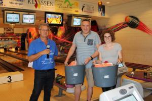 10 5e Den Baas en zijn madam Toernooi 2018 7e plaats Jean Heijkans en  Quinchy Gerretsen