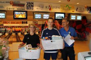 11 5e Den Baas en zijn madam Toernooi 2018 6e plaats Claudia Kutzner en Devin van Staaijeren
