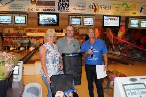 12 5e Den Baas en zijn madam Toernooi 2018 5e plaats John van Staaijeren en Lydia Broekarts