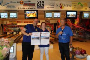 13 5e Den Baas en zijn madam Toernooi 2018 4e plaats Peter Bruyndonkx  en Inge van Beughem
