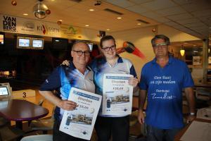 09 6e Den Baas en zijn Madam Toernooi 2019 4e plaats Danny Maes en Elise van Rompaey