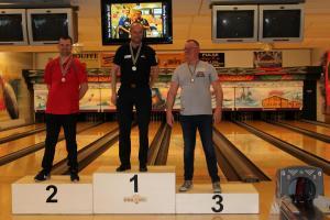 05 VK Senioren 2018 Top 3 Heren C Maurice Wandel, Rudy Kerkhove en Ger Kerkhove