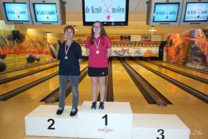 02 VK senioren 2016 top 2 Dames AB Lindsey Paling en Helene de Ruiter