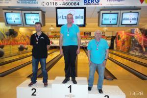 03 VK senioren 2016 top 3 Heren D Robert van Alen, Rudy Kerkhove en Guus Hanegraaf