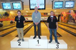 04 VK senioren 2016 top 3 Heren C Rob Mol, Randy van Ingen en Ludo Warman