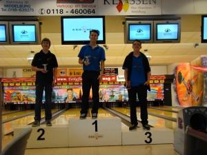 Regio Kampioenschappen Jeugd  02-11-2013 Top 3 Jongens Aspiranten